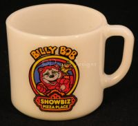 Anchor Hocking Billy Bob SHOWBIZ PIZZA Coffee Mug