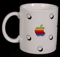 Apple MacIntosh Computer Logo Coffee Mug Vintage