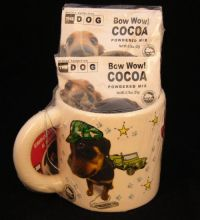 Artlist THE DOG DUDES Bow Wow Cocoa Mix Coffee Mug NEW