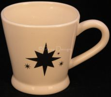Bath & Body Works 1999 HOLIDAY EDITION Star Coffee Mug