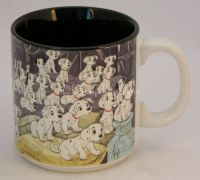 Disney 101 DALMATIANS Movie Coffee Mug - Japan