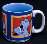 Disney Aladdin Movie Genie Portrait Coffee Mug