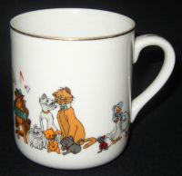Disney ARISTOCATS Coffee Mug Made in Japan