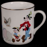 Disney Mickey Mouse Character Parade Coffee Mug Cup Japan