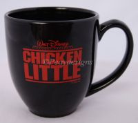 Disney CHICKEN LITTLE Movie Black Coffee Mug