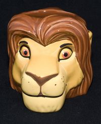 Disney Applause Lion King SIMBA Sculpted CharacterCoffee Mug