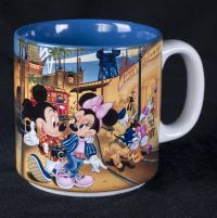 Disney MGM Studios Mickey & Minnie Mouse Coffee Mug