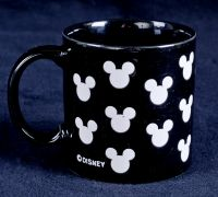 Disney Mickey Mouse Ears Stoneware Coffee Mug