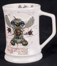 Disney Lilo & Stitch Mechanical 3D Robot Model 03 Coffee Mug
