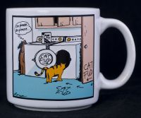 Far Side - Cat Fud Food Coffee Mug - Vintage 1985