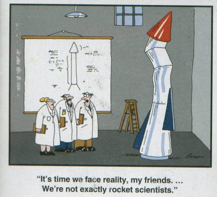 Far Side - We're Not Rocket Scientists 1993