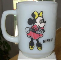 "Anchor Hocking/Fire King ""Minnie Mouse"" - Pepsi"