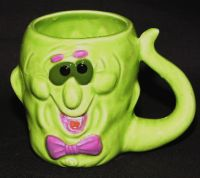 Fitz & Floyd OCI MONSTER BOO! Coffee Mug - RARE