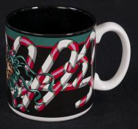 Potpourri Press Holiday Candy Canes Jeanne Beury Coffee Mug