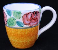 Starbucks FLORAL Coffee Mug - MADE IN ITALY
