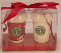 Starbucks Mini Latte Christmas Ornaments - NEW
