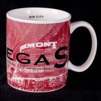 "Starbucks Barista Las Vegas ""Sin City"" Skyline Series 1 Coffee Mug"