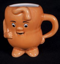 Actos Anthropomorphic Stomach Shaped Coffee Mug