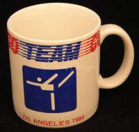 1984 US Olympics LOS ANGELES Figure Skating Coffee Mug