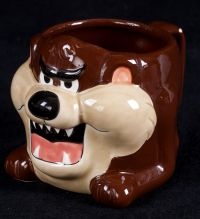 Applause Warner Bros. Looney Tunes Tazmanian Devil 3D Sculpted Coffee Mug