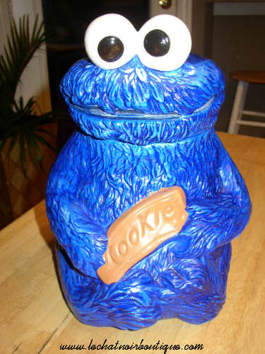 Sesame Street Muppets Cookie Monster #970