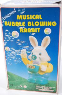 Easter Animated Musical BUBBLE BLOWING RABBIT Display