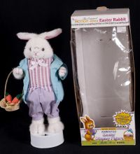 Telco Motionette Peter Cotton Tail Animated Musical Motionette w/ Box