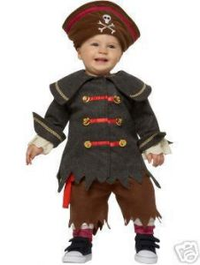 Old Navy PIRATE 3pc Halloween Costume