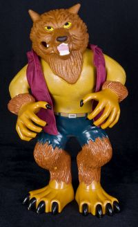 Manley Toy Quest Stretch Screamers Werewolf Wolfman Toy