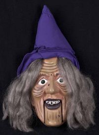 Gemmy Animated Singing WITCH GREETER Musical Halloween Display