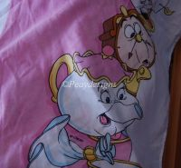 Disney BEAUTY AND THE BEAST Bedskirt Sheet
