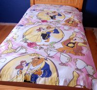 Disney BEAUTY AND THE BEAST TWIN Bed Flat Sheet Fabric