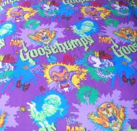 GOOSEBUMPS R.L. Stine Goulish Bedding Vtg
