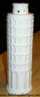 Leaning Tower of Pisa Cheese Shaker