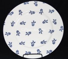 "Ralph Lauren KATE REVERSED Blue 11"" Dinner Plate"