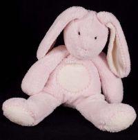 Pottery Barn Kids Bunny Rabbit Pink 19 Plush Lovey Stuffed Animal
