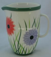 Starbucks Barista SPRING FLORAL Flower 2003 Pitcher