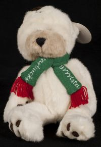 Starbucks Bearista 1998 4th Edition Polar Bear Plush