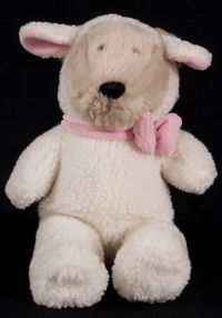 Starbucks Bearista 1999 10th Edition White Lamb Bear Plush