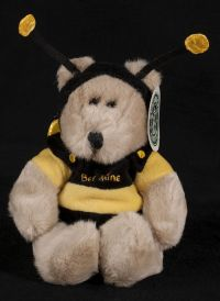 Starbucks Bearista 1999 9th Edition BEE MINE Bear Plush