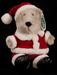 Starbucks Bearista 2000 12th Edition Santa Bear Plush