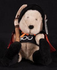 Starbucks Bearista 2000 11th Edition Witch BOO Bear Plush
