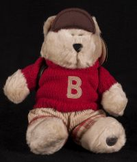 Starbucks Bearista 2002 21st Edition Back to School Boy Bear Plush
