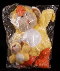 Starbucks Bearista 2003 25th Edition Easter Chick w/ Mini Bear Plush