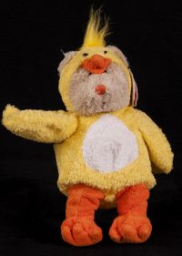 Starbucks Bearista 2003 25th Edition Easter Chick Bear Plush