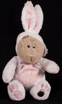 Starbucks Bearista 2003 26th Edition Easter Bunny Rabbit Bear Plush