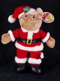 Toy Connection Marc Brown's Arthur as Santa Claus Plush Lovey Toy