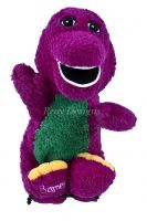 Barney Curly & Soft Plush Toy