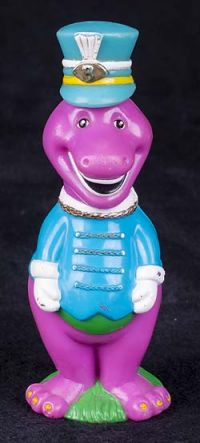 Barney the Dinosaur Marching Band Bubble Wand Blower