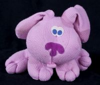 Blues Clues TALKING MAGENTA Pink Thermal Waffle Plush